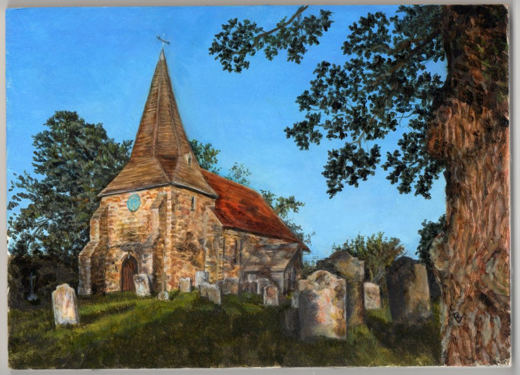 All Saints Church, Mountfield by Barbara Valentine